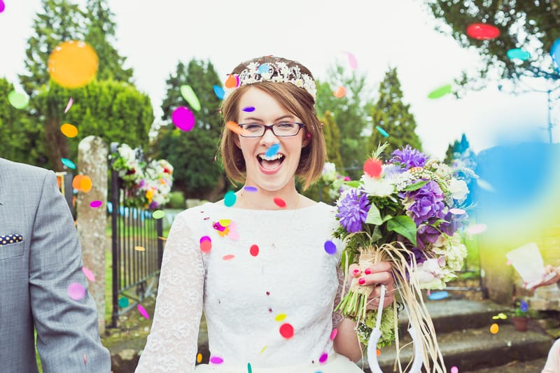 THIS CUTE DIY WEDDING IN A VILLAGE HALL IS EVERY CRAFTER'S DREAM! (28)