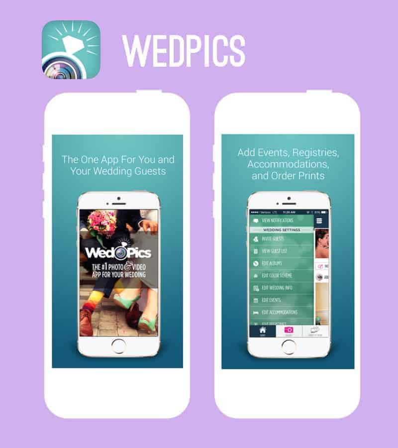 WedPics New App