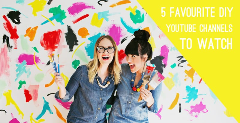 5 DIY YOUTUBE CHANNELS TO WATCH IF YOU WANT TO GET SERIOUS ABOUT CRAFTING