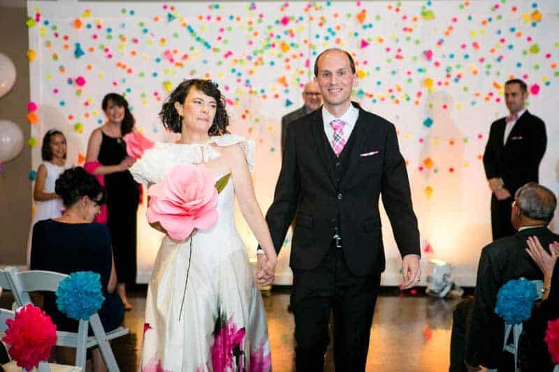 COLOURFUL SCIENCE THEMED WEDDING IN URBAN PORTLAND (17)
