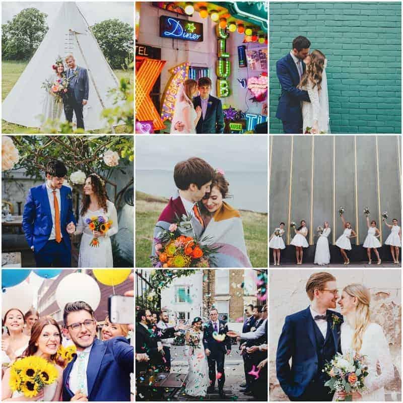 FOLLOW DALE WEEKS ON INSTAGRAM WEDDING PHOTOGRAPHER