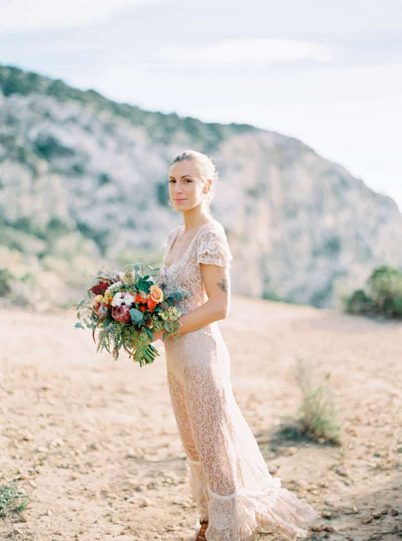 STYLED INSPIRATION AZTEC BOHO CACTUS WEDDING SHOOT IN ES VEDRA IBIZA (20)