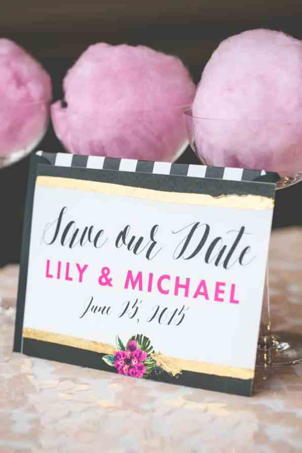 TROPICAL INSPIRED ENGAGEMENT BRIDAL SHOWER IDEAS (14)