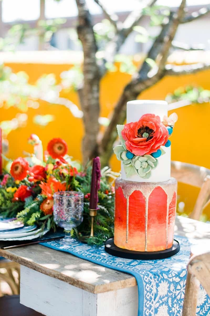 WATERCOLOUR MEXICAN FIESTA INSPIRED WEDDING IDEAS (1)