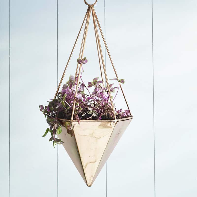original_copper-geometric-hanging-planter