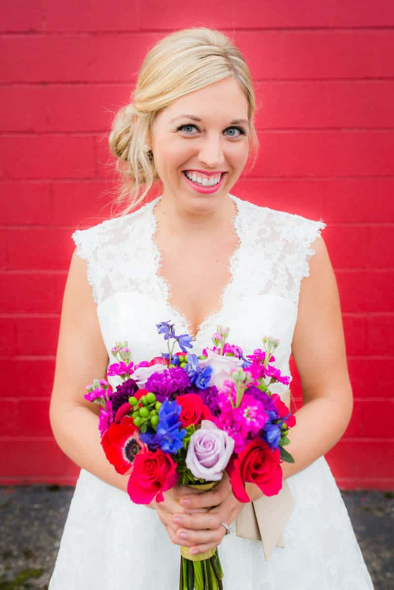THIS FUN & COLORFUL FAMILY WEDDING WILL MELT YOUR HEART - BridalPulse