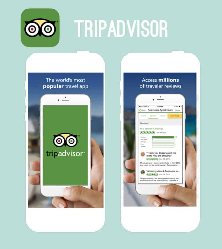 Tripadvisor honeymoon app