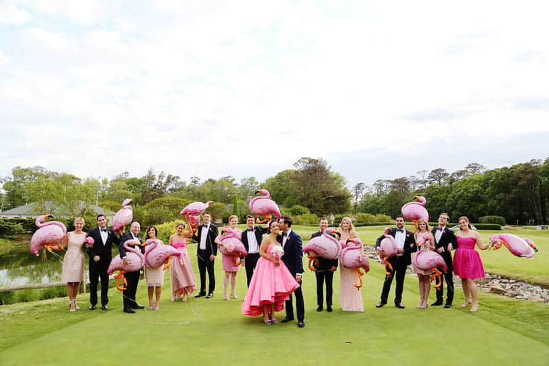 A FUN FLAMINGO EXTRAVAGANZA WEDDING WITH INFLUENCE FROM KATY PERRY AND GRAY MALIN (6)