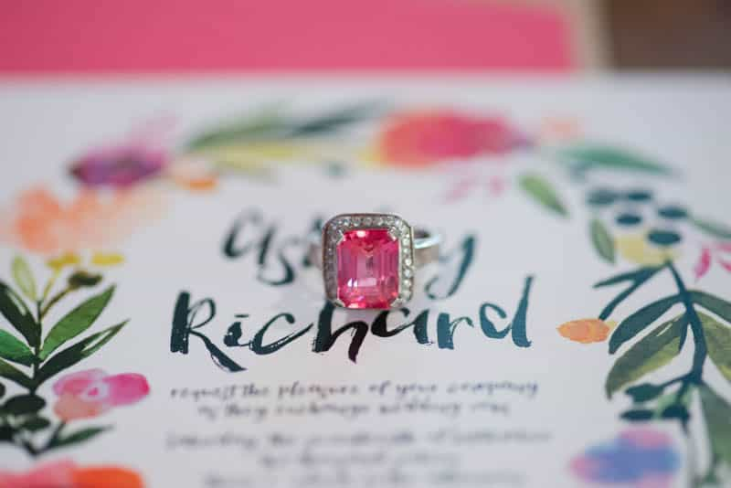 BOLD & VIBRANT HOT PINK CORAL BOHEMIAN STYLING WEDDING IDEAS (23)