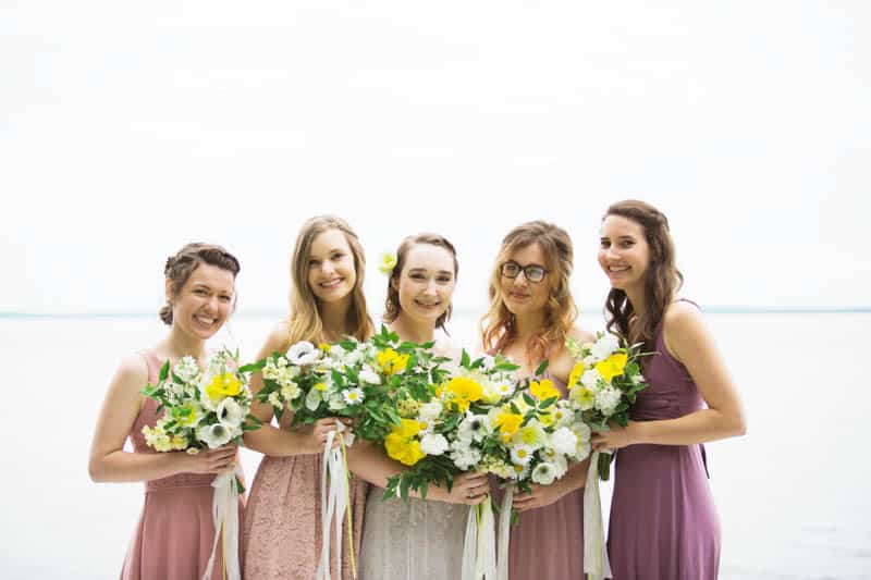 QUINTESSENTIALLY BRITISH & INTIMATE LAKESIDE WEDDING IN MAINE (13)