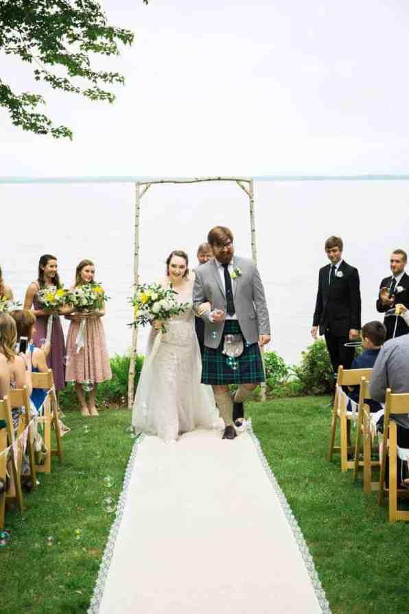 QUINTESSENTIALLY BRITISH & INTIMATE LAKESIDE WEDDING IN MAINE (8)