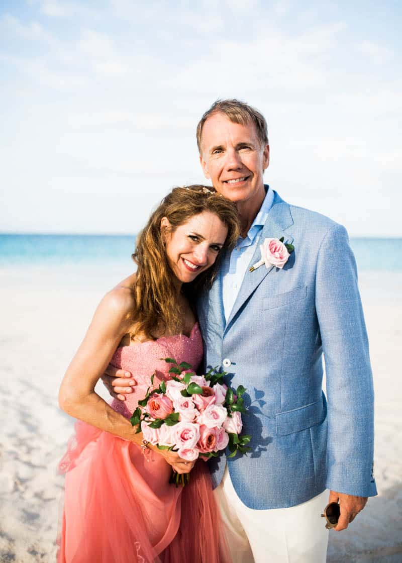 REAL LIFE CINDERELLA FAIRY TALE WEDDING IN THE BAHAMAS WITH A PINK VERA WANG DRESS (25)