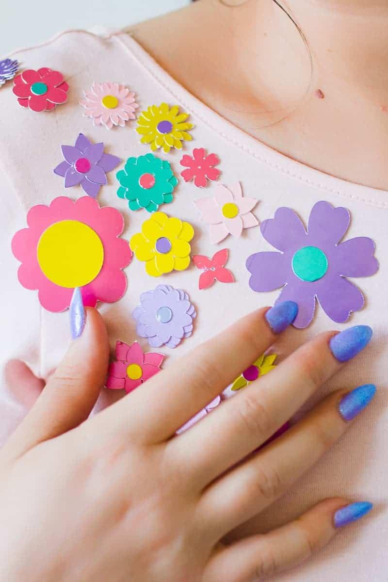 diy-embellished-dress-make-your-own-wedding-bridesmaid-dress-cricut-brooch-jewels-floral-flower-summer-fashioin-tutorial-11