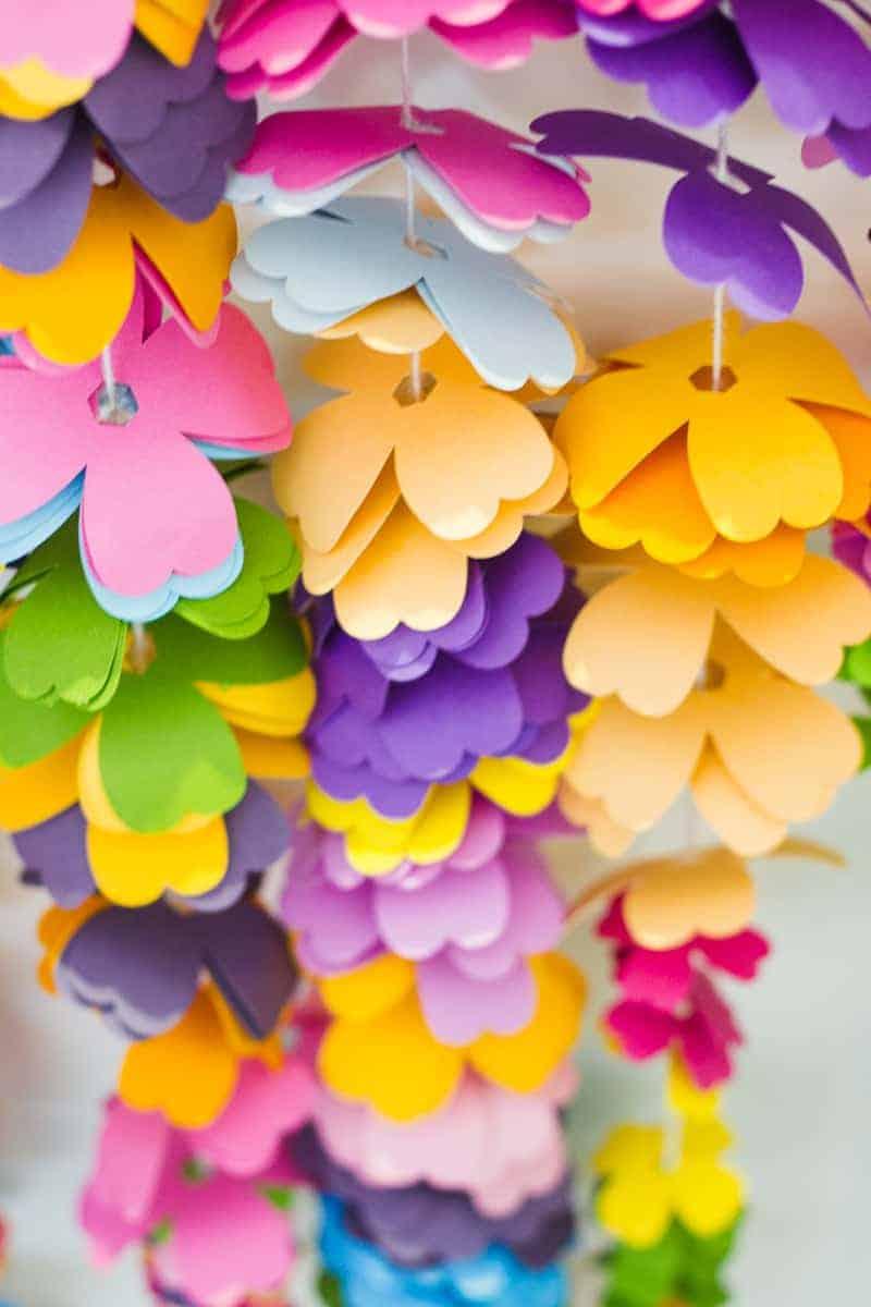 diy-floral-flower-backdrop-bright-colourful-altar-photobooth-cascading-modern-fun-wedding-3