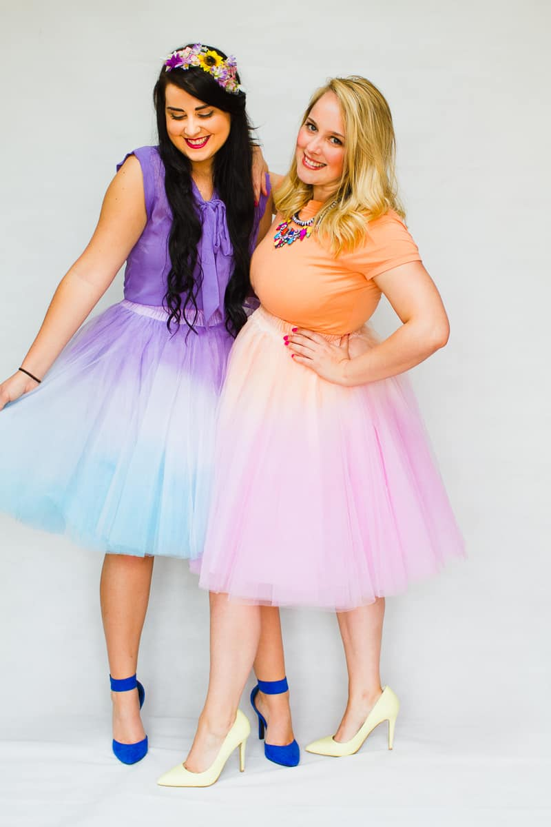diy-ombre-two-tone-tulle-skirts