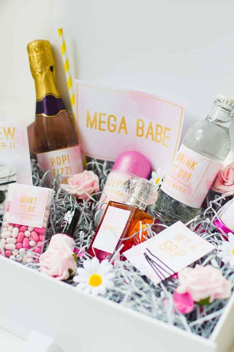 Emergency Bride Kit Wedding day kit DIY make your own box bag essentials labels_-1