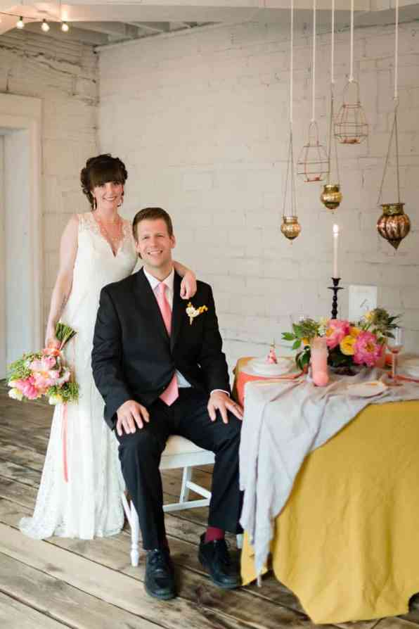 fun-colourful-yellow-coral-peach-wedding-and-bridal-shower-ideas-19