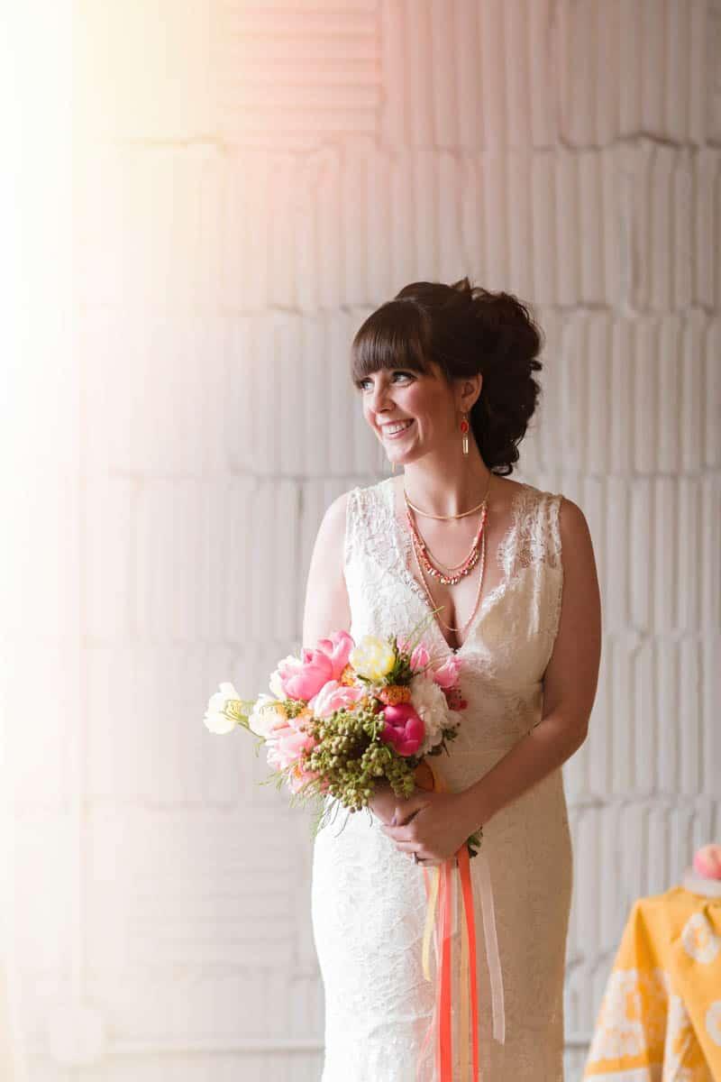 fun-colourful-yellow-coral-peach-wedding-and-bridal-shower-ideas-22