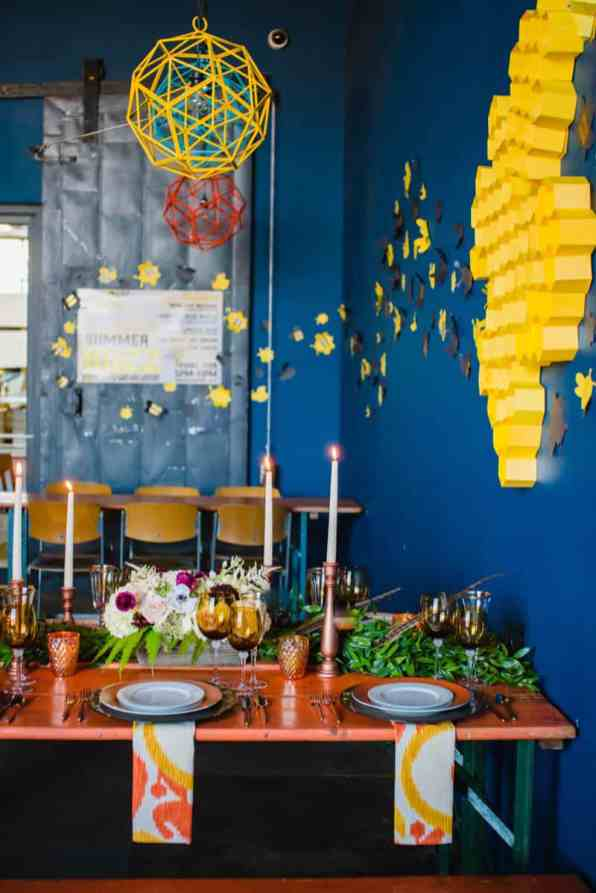 bee-themed-wedding-ideas-in-a-brewery-7