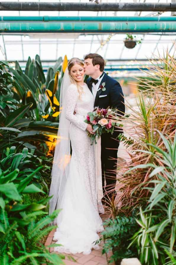 Romantic Philadelphia Horticulture Center Wedding - photo by Redfield Photography http://ruffledblog.com/romantic-philadelphia-horticulture-center-wedding
