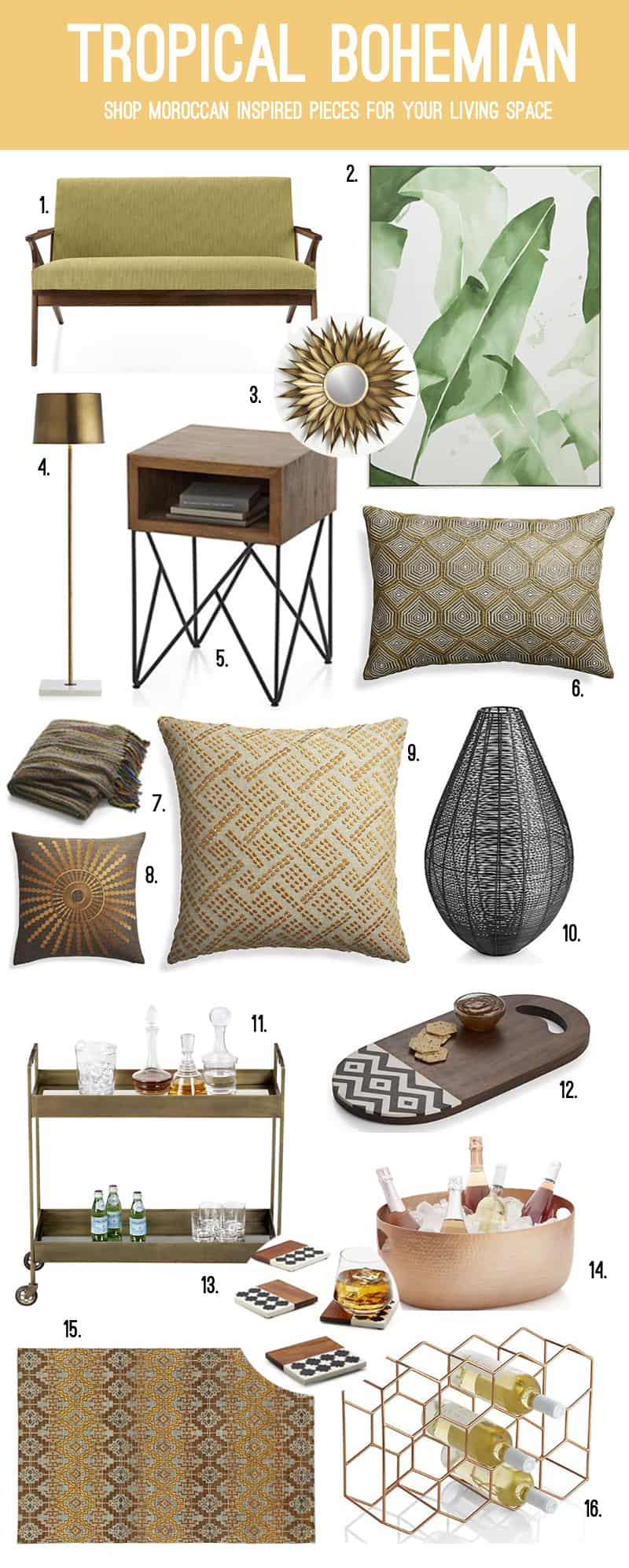 crate-barrel-wedding-registry-boho-living-yellow-rustic