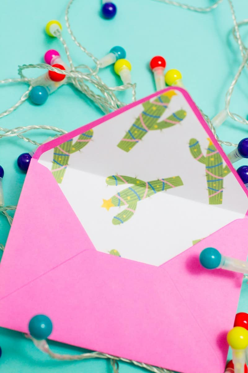 christmas-envelope-liners-free-printable-download-festive-flamingo-cactus-lights-pink-fun-9