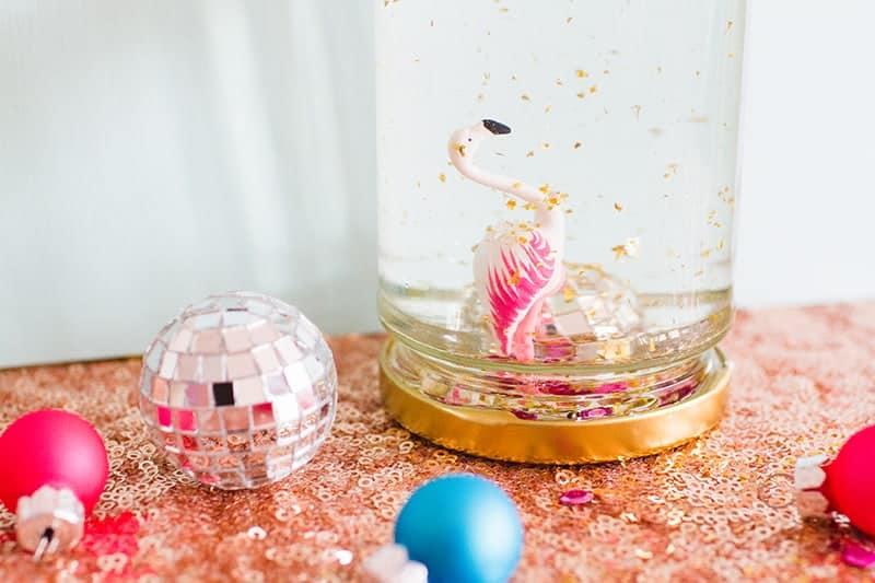 diy-flamingo-snow-globes-9