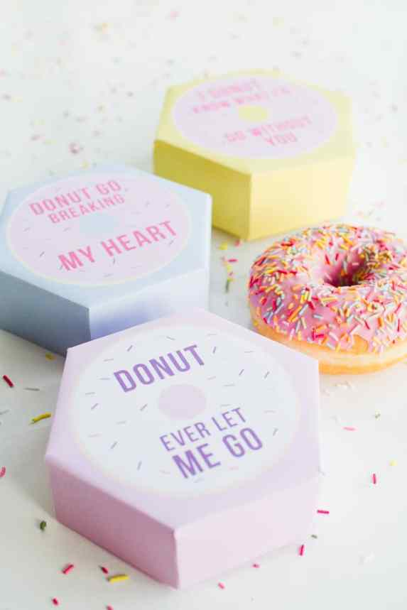 60-VALENTINES-DAY-GIFT-DIY'S-FOR-YOUR-GAL-PALS-PUN-DONUT-BOXES