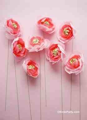 50 best paper flower tutorials bespoke bride wedding blog best paper flower tutorials for your wedding easy mightylinksfo