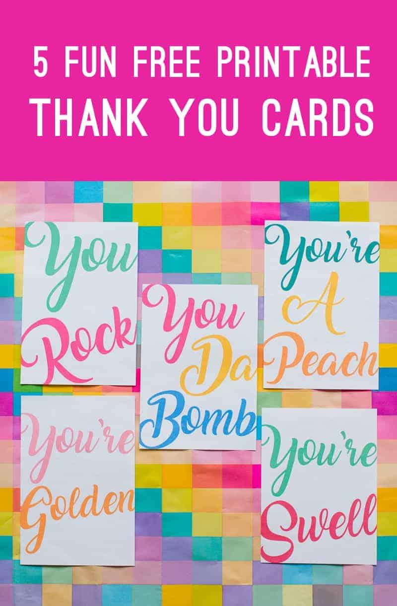free-printable-thank-you-cards-calligraphy-modern-wedding-postcard-colourful-2