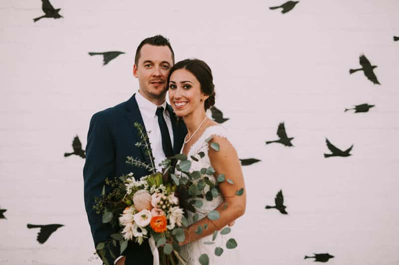 A PERSONALIZED & RUSTIC WEDDING IN A DOWNTOWN PHOENIX ART GALLERY (17)