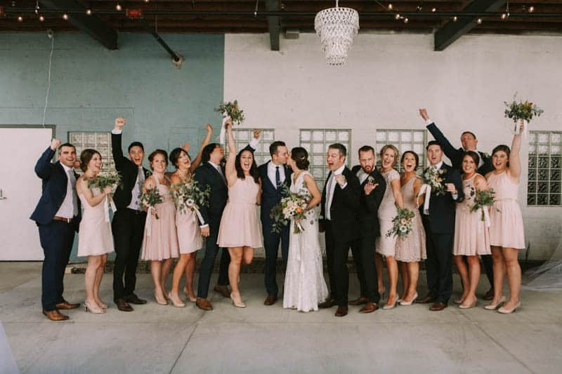 A PERSONALIZED & RUSTIC WEDDING IN A DOWNTOWN PHOENIX ART GALLERY (3)