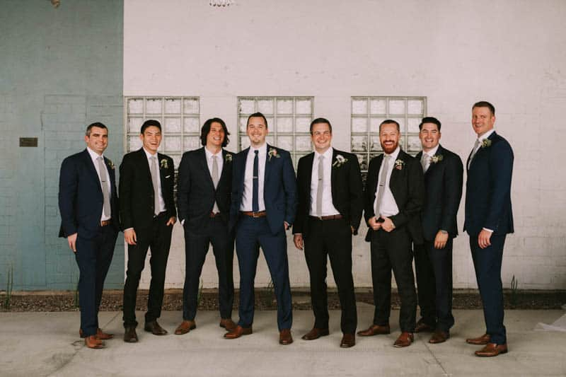 A PERSONALIZED & RUSTIC WEDDING IN A DOWNTOWN PHOENIX ART GALLERY (4)