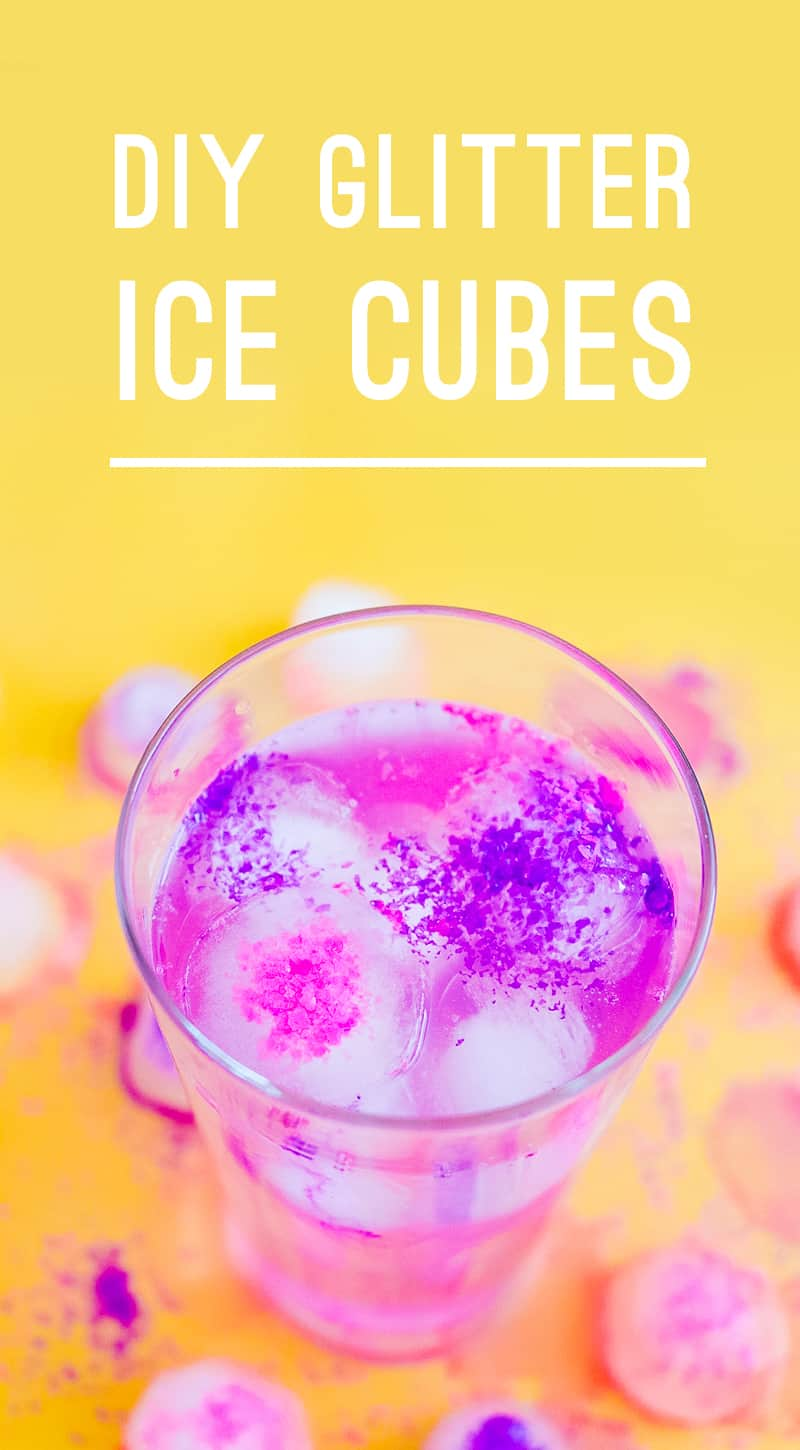 DIY Glitter ICe Cubes Edible Fun Party Sparkle Drinks Cocktail Accessories_-6