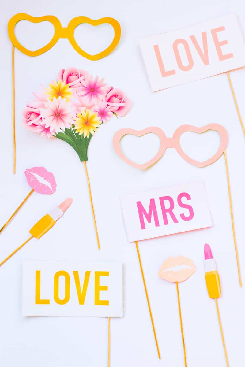 Printable Hen Party Props Bridal Shower Bachelorette Party Download Girlie Cocktails Fun_-4