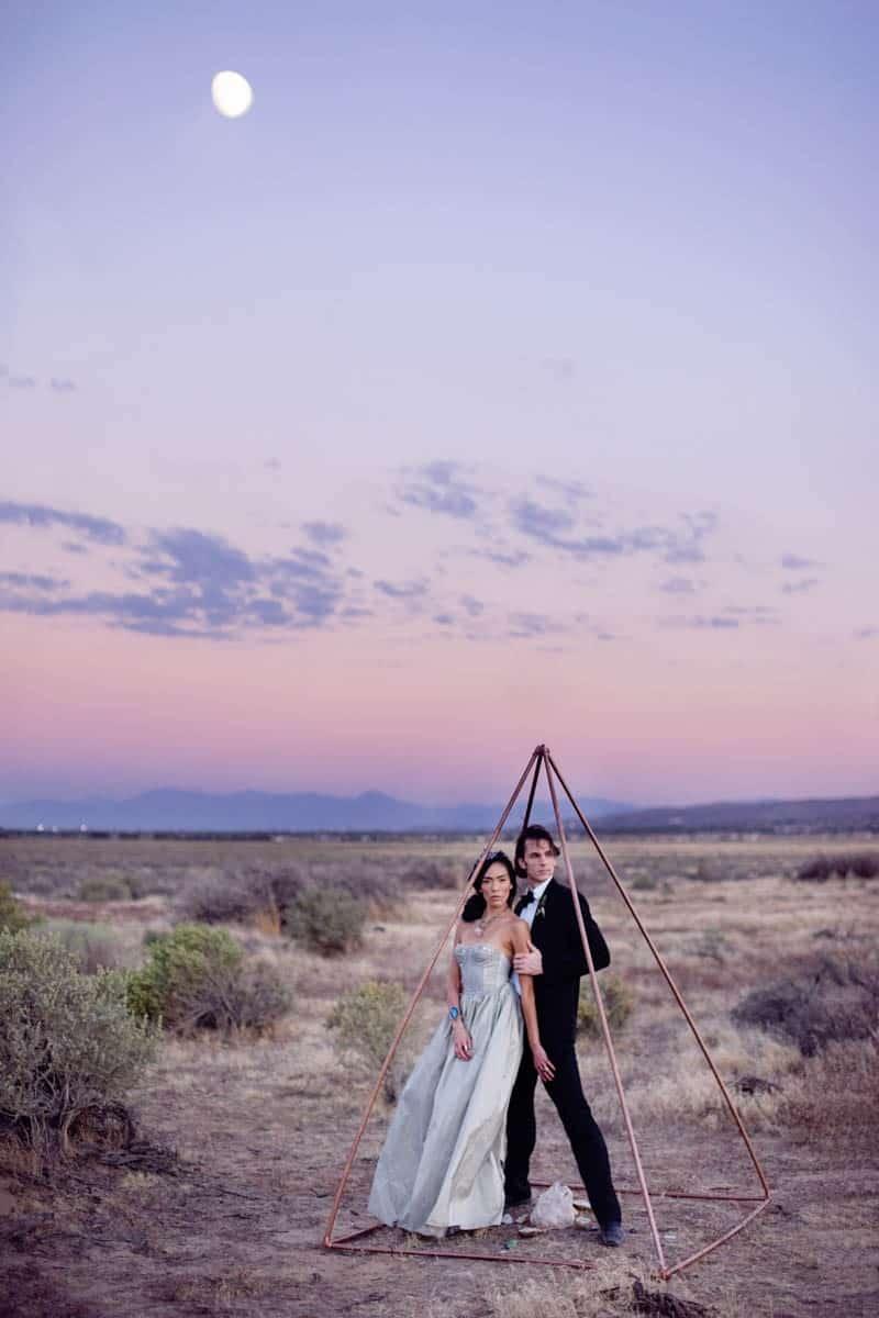 RUSTIC BOHO CRYSTAL WEDDING IDEAS WITH AMETHYST QUARTZ (21)