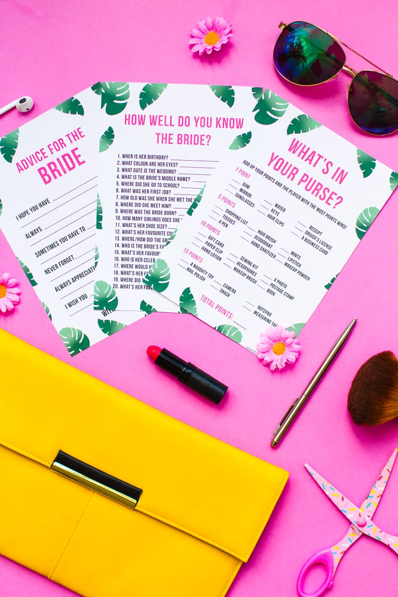bridal shower newlywed game sample questions bridal