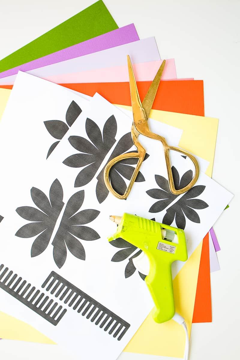 DIY Paper Flower Crown Make Your Own Colourful Fun Headpiece Papercraft-1