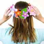 Diy Paper Flower Crowns Make Your Own Crown Papercraft Bespoke Bride Wedding Blog