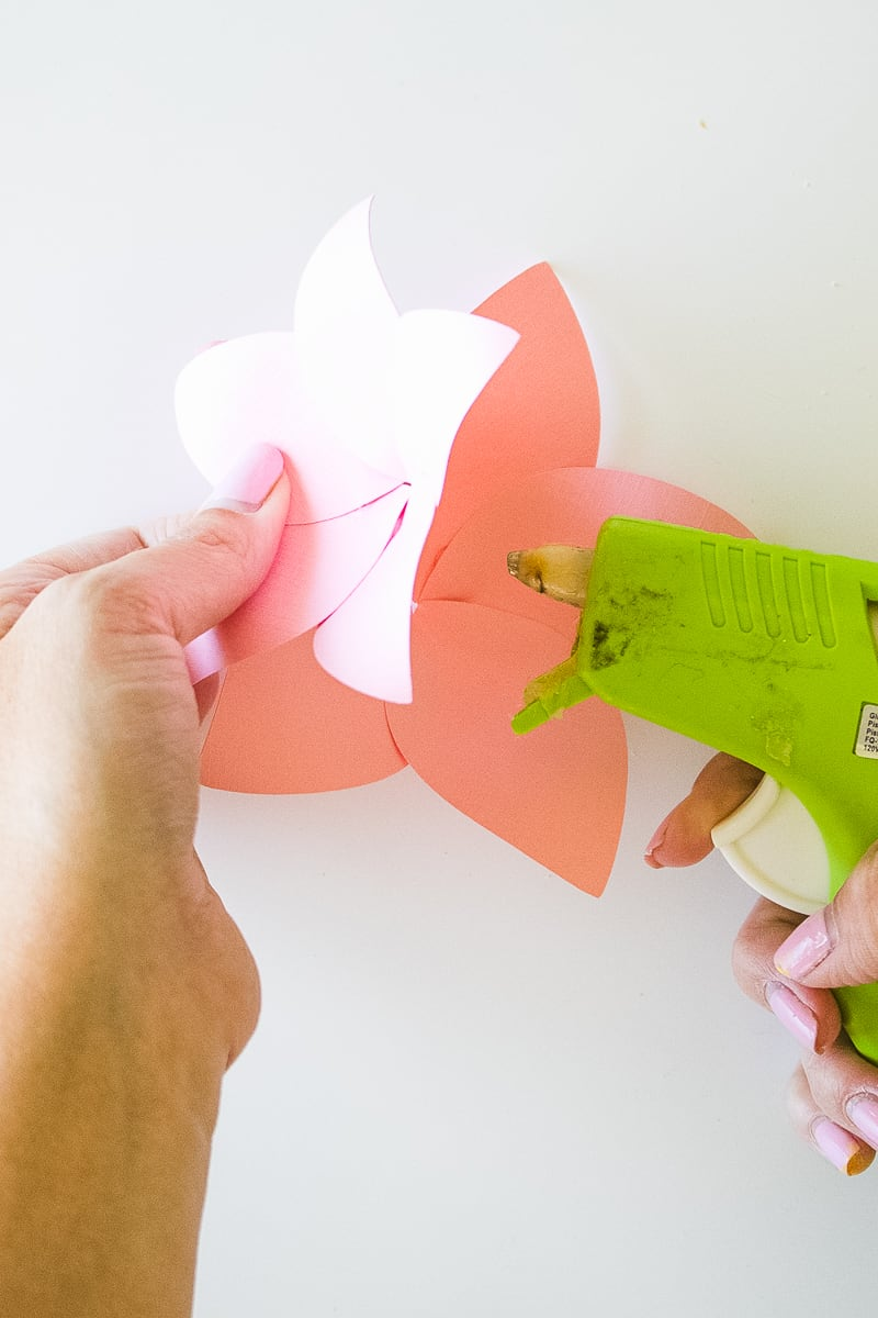 DIY Paper Flower Crown Make Your Own Colourful Fun Headpiece Papercraft-9