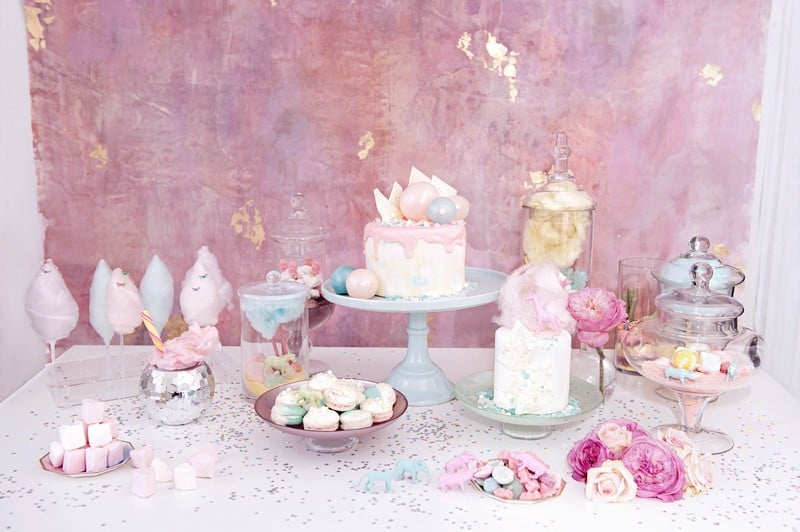 SWEET PINK PASTEL UNICORN BRIDAL SHOWER HEN PARTY SLEEPOVER (17)