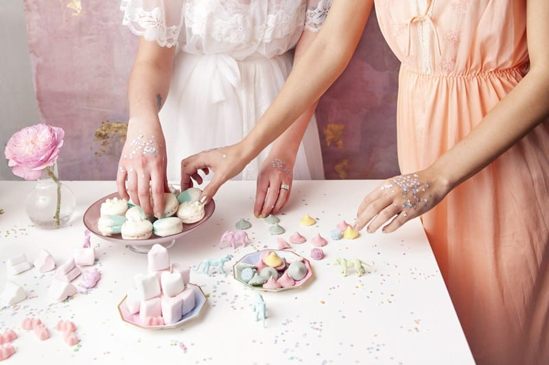 SWEET PINK PASTEL UNICORN BRIDAL SHOWER HEN PARTY SLEEPOVER (26)