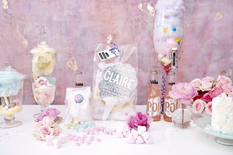 SWEET PINK PASTEL UNICORN BRIDAL SHOWER HEN PARTY SLEEPOVER (6)