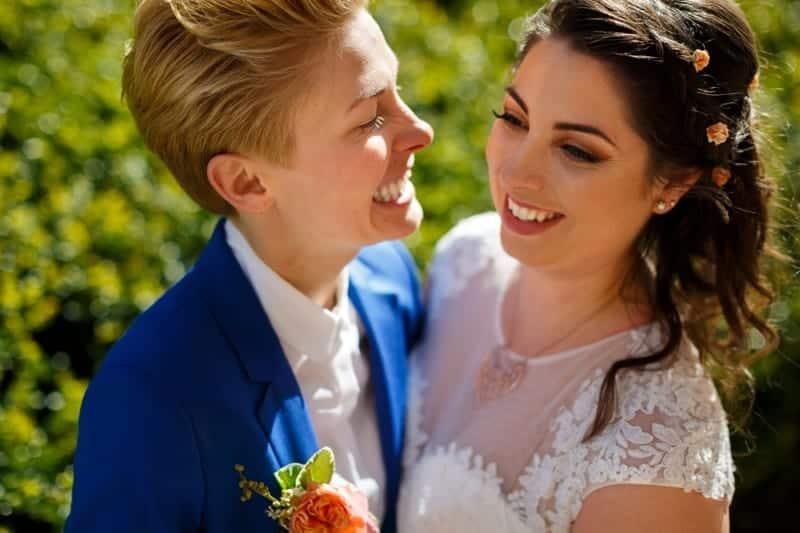 SAME-SEX COLOURFUL SPRING WAREHOUSE WEDDING (4)