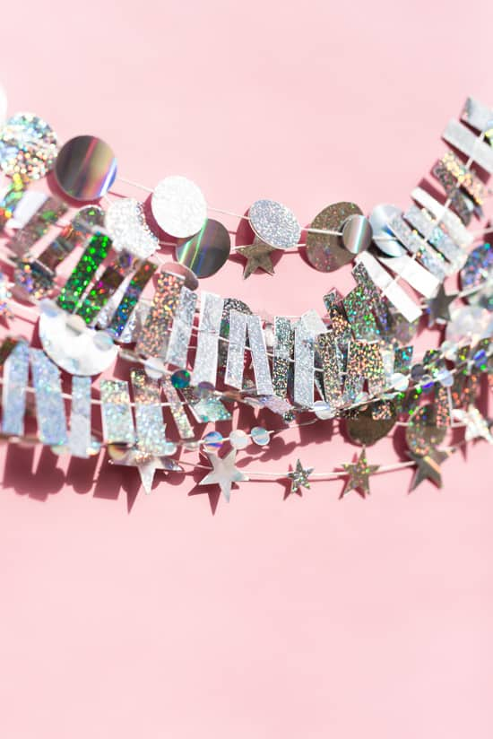 holographic-new-years-garland-diy