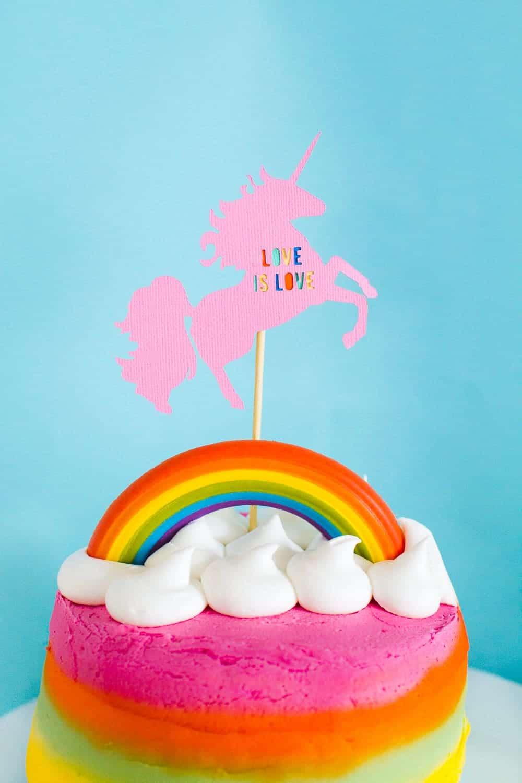Diy Unicorn Wedding Cake Topper Bespoke Bride Wedding Blog