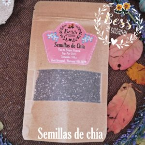 Bess Artesanal - Semillas de chía