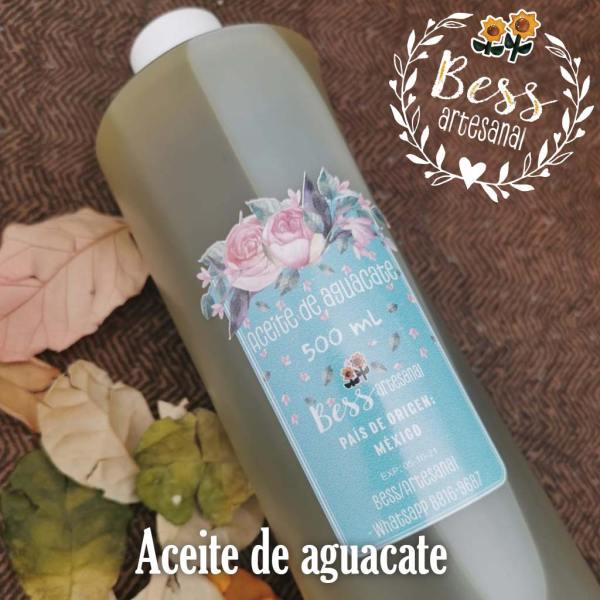 Bess Artesanal - Aceite de aguacate