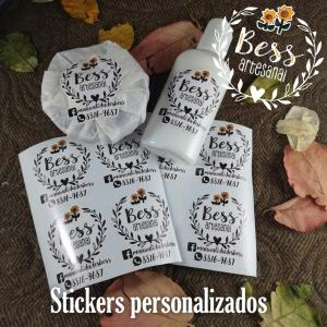 Bess Artesanal - Stickers personalizados