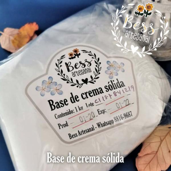 Bess Artesanal - Base de crema sólida